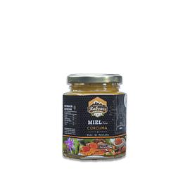 Mieles gourmet con super alimento de Cúrcuma 220 g
