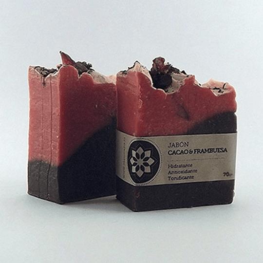 Jabón Cacao&Frambuesa