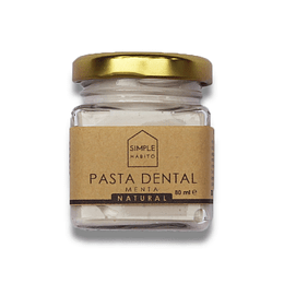 Pasta Dental Natural Sin Fluor