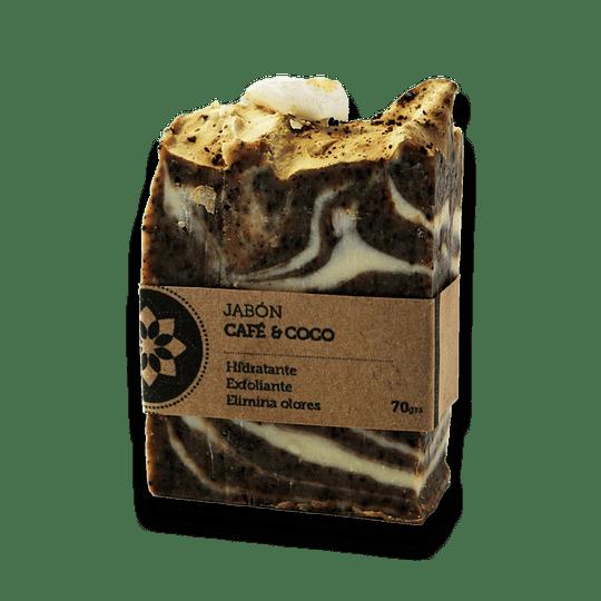 Jabón Café y Coco