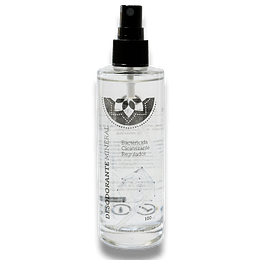 Desodorante Mineral Recargable