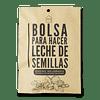 Bolsa filtro para leches vegetales