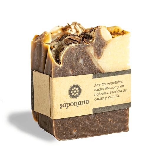Jabón Cacao & Vainilla
