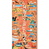Puzzle Mapa de Chile Regiones y Ciudades 200 Piezas