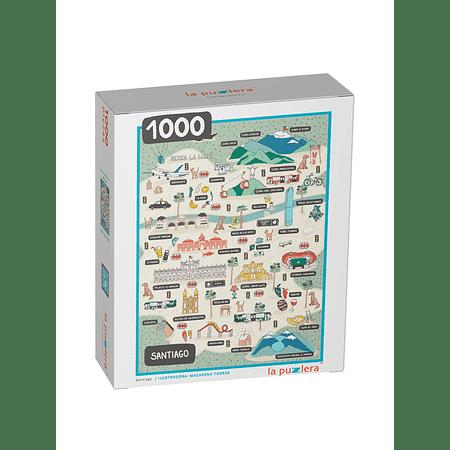 Puzzle Santiago 1000 Piezas