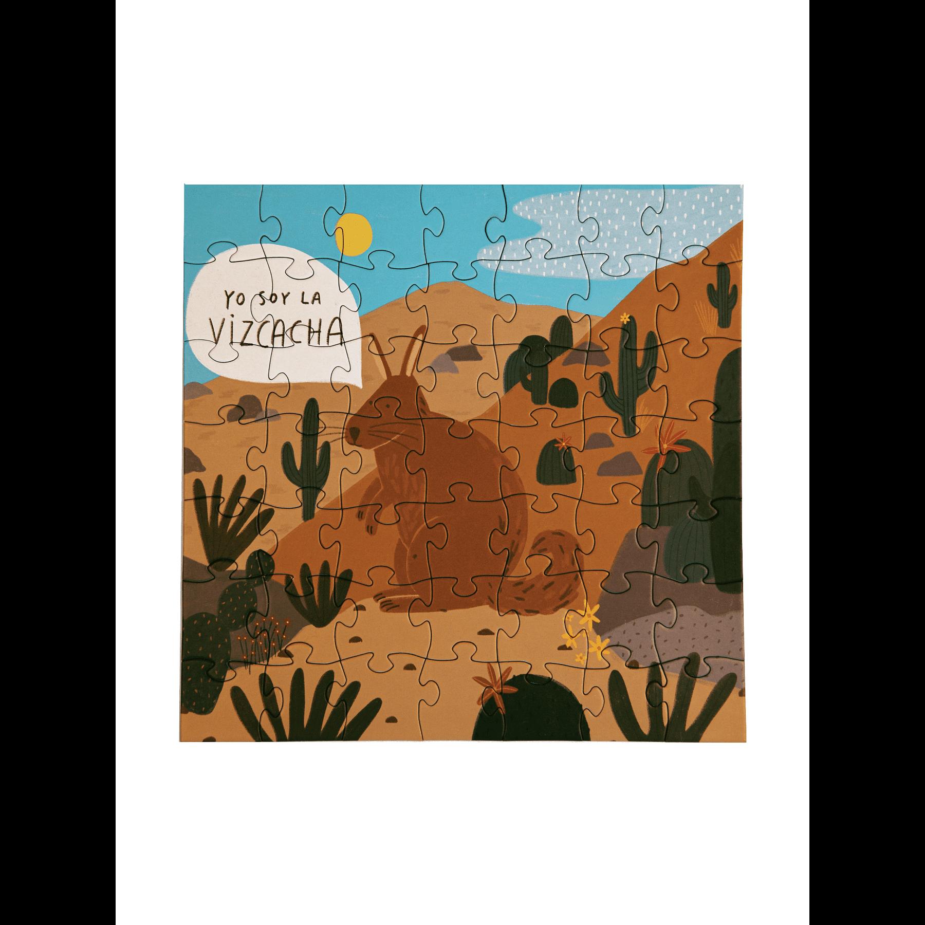 Puzzle Vizcacha 49 Piezas