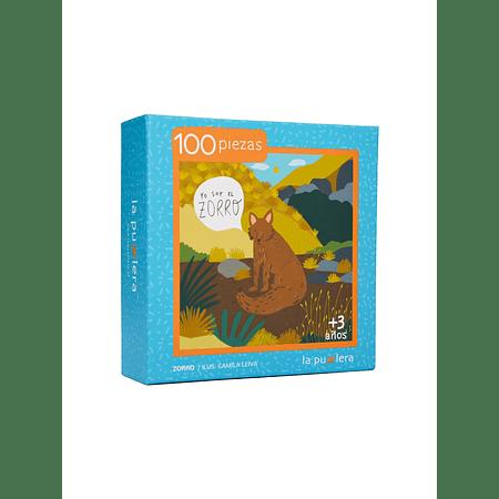 Puzzle Zorro 100 Piezas