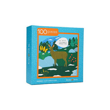 Puzzle Huemul 100 Piezas