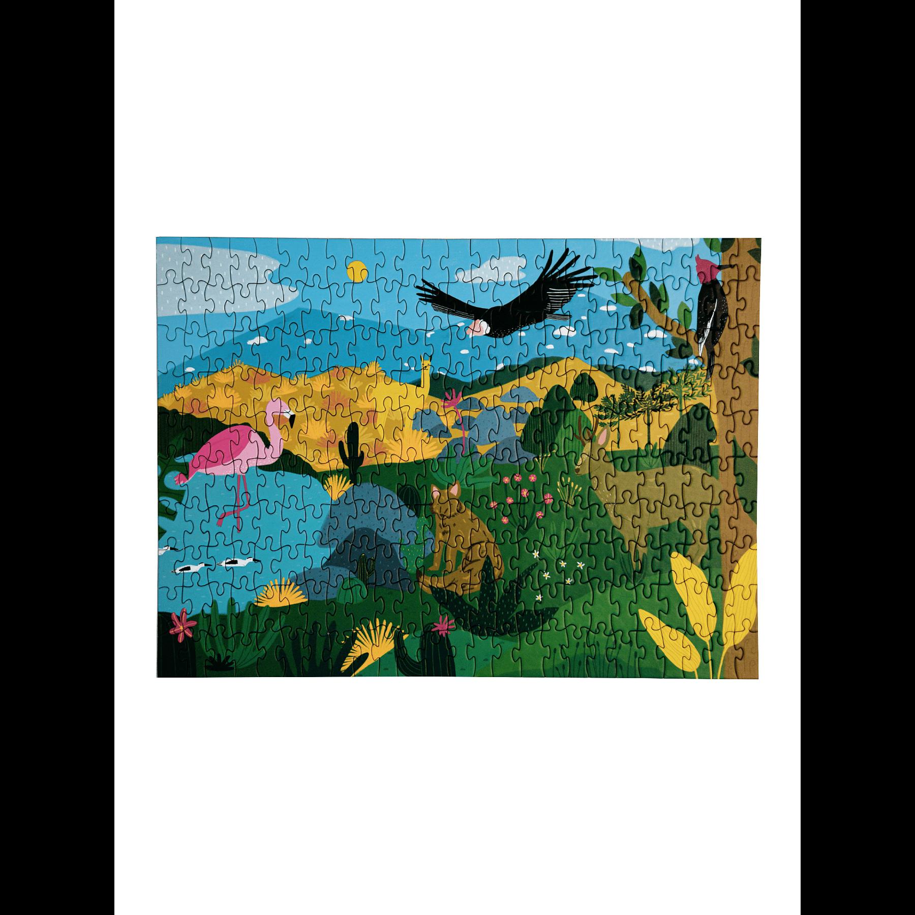 Puzzle Fauna Chilena 250 Piezas