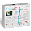 Puzzle Pichi Ignao, Lago Ranco 500 Piezas