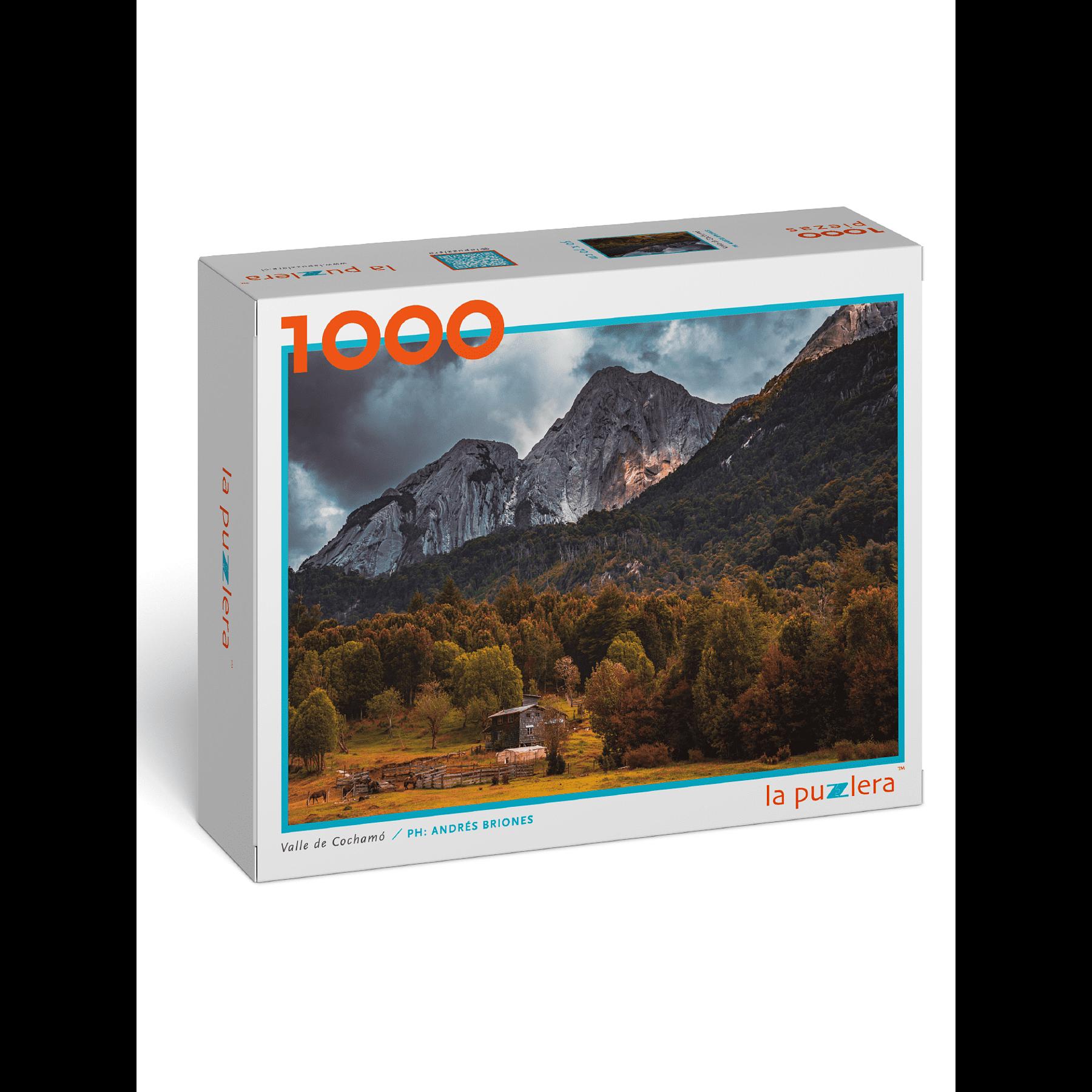 Puzzle Valle de Cochamó 1000 Piezas