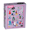 Puzzle Mujeres Poderosas 1000 Piezas