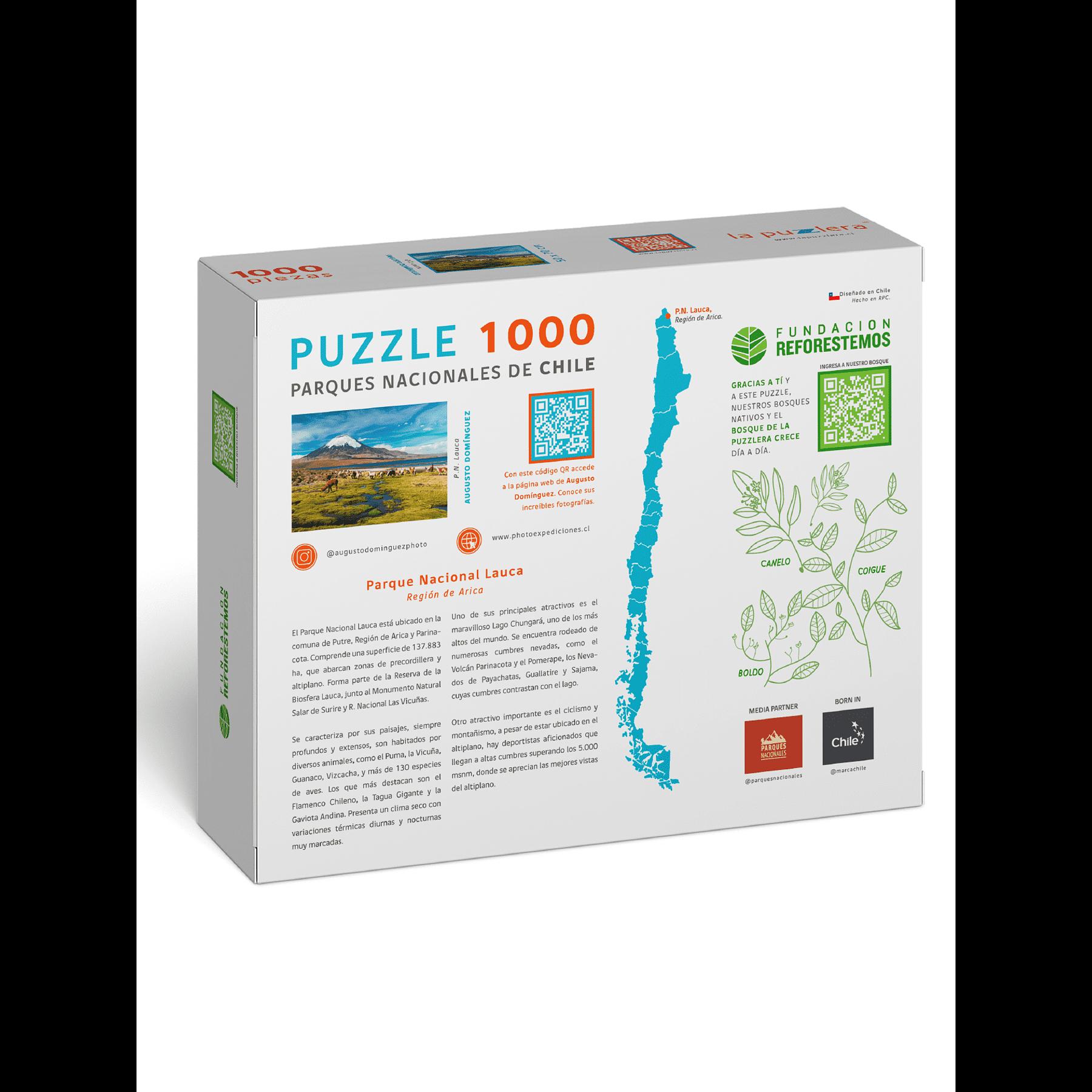 Puzzle Parque Nacional Lauca 1000 Piezas