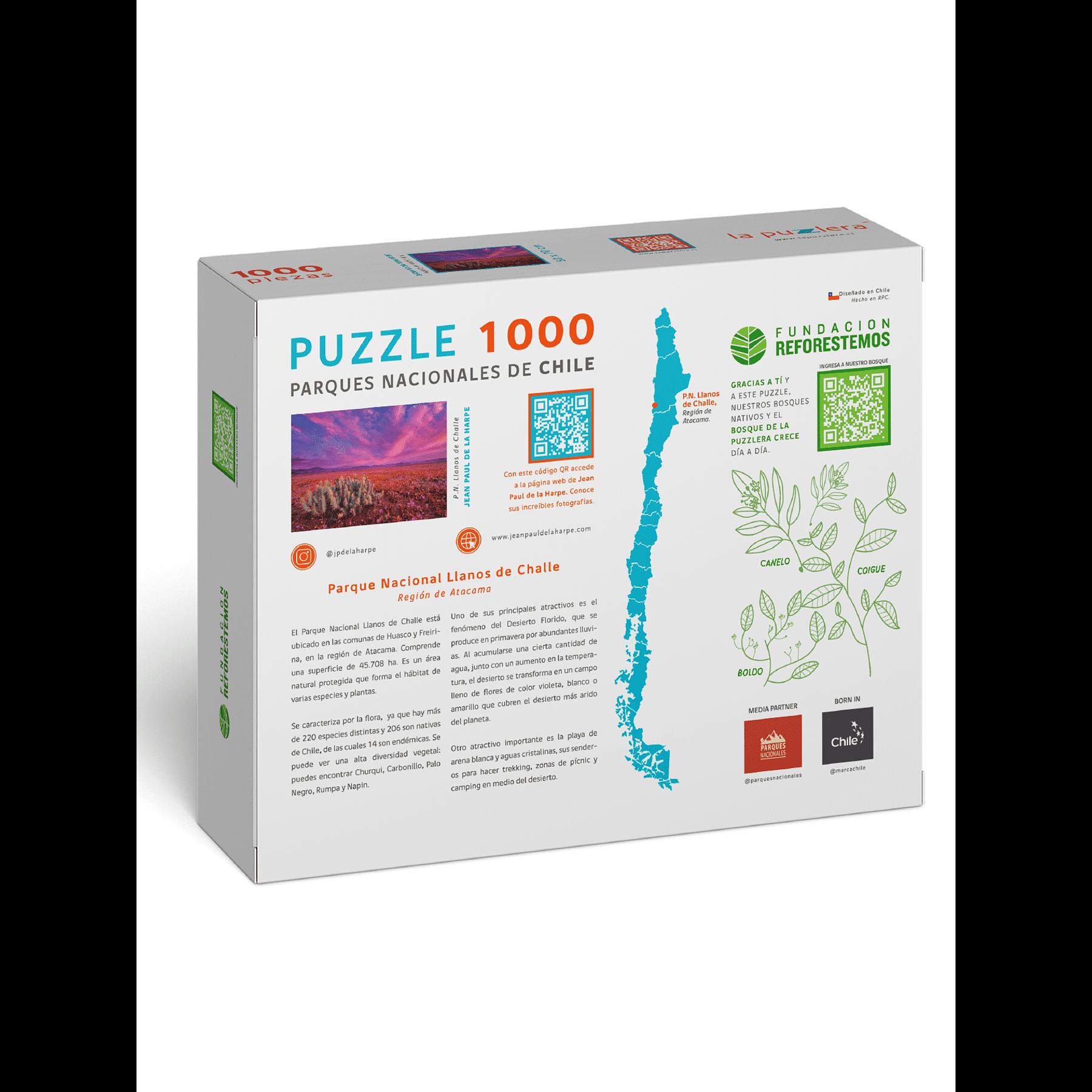 Puzzle Parque Nacional Llanos de Challe 1000 Piezas