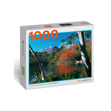 Puzzle Parque Nacional Huerquehue (Otoño) 1000 Piezas
