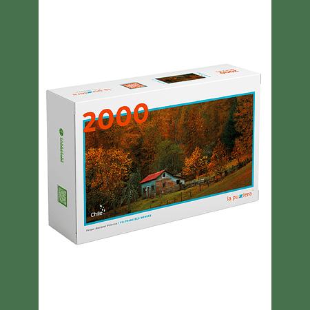 Puzzle Parque Nacional Villarica 2000 Piezas