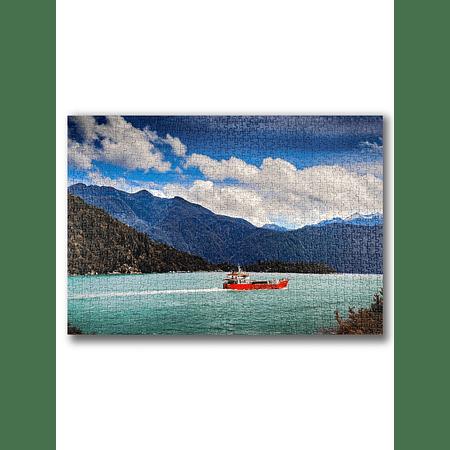 Puzzle Parque Nacional Pumalín Douglas Tompkins 1000 Piezas