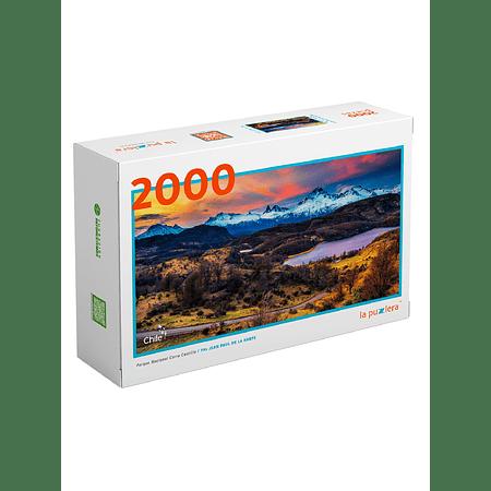 Puzzle Parque Nacional Cerro Castillo 2000 Piezas