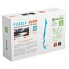 Puzzle Parque Nacional Torres del Paine (Cuernos) 2000 Piezas