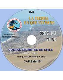 OLJ# 113 - IQUIQUE-COSTAS SECRETAS 2008 Cp2-SD-HD
