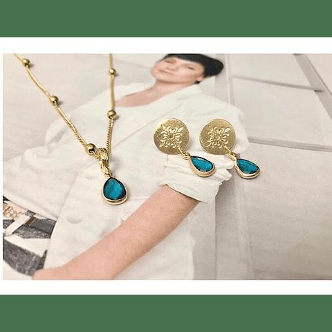 Conjunto mandala oro
