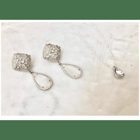 Aros olivo y circones