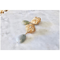 Aros oliva amazonita
