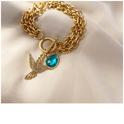 Pulsera Hummingbird heartbeat