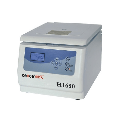 CENTRIFUGA LABORATORIO CENCE H1650 13.500 rpm MAX. 12x5 ML
