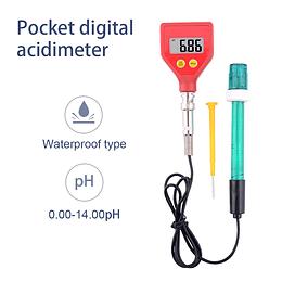 Ph Metro PH-98105 portátil de alta precisión medidor de PH