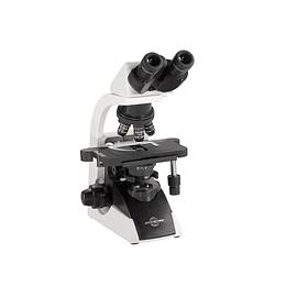 Microscopio Binocular Profesional Avanzado 40-1000X, e-plan infinito, 12V-20W lámpara halógena