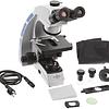 Microscopio Trinocular Contraste de Fase Set, con iluminación LED 3W, 40x-1000x