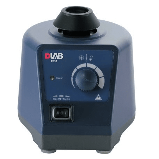Vortex Mixer DLab Modelo MX-S velocidad variable de 0 - 2500RPM, 60W.