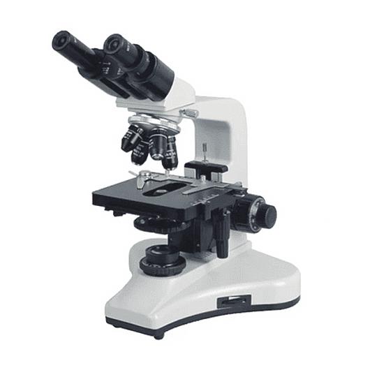 Microscopio Binocular Kohler, Plan Acromaticos, 40x-1600x, Profesional, Iluminación LED, Veterinario, Laboratorio Clinico
