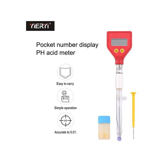 Ph Metro PH-98107 portátil de alta precisión medidor de PH