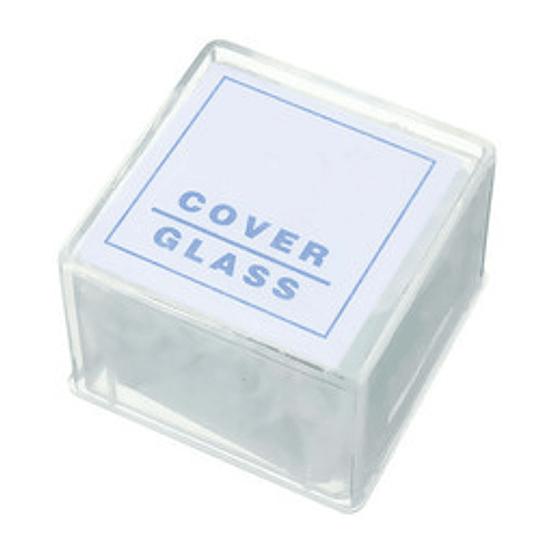 Cubre Objetos 20 x 20 mm, 100 x caja