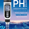 Medidor portátil de PH, Probador de Calidad del Agua, Acidometer del acuario, Acidimeter agua, PH acidez de PH818