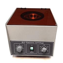 Centrifuga para laboratorio Modelo 80-2, 12x20ml, 4000RPM, prp, orina, sangre
