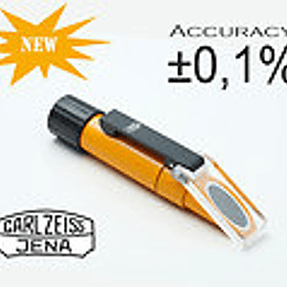 Refractometro optico manual azucar uva Carl Zeiss Jena [sugar tester]