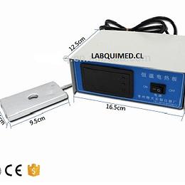 Platina calefaccionada para microscopio, control digital de temp. Ambiente a 50 ºc