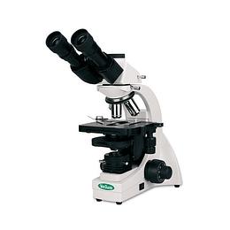 Microscopio Trinocular biologico Vanguard 1331bri optica plana infinita