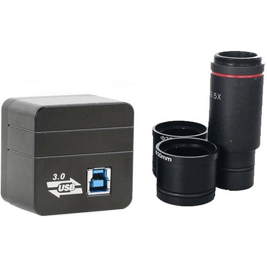 Camara Digital USB3.0 eXtremeResolution Para Microscopio 60fps FULL HD, win10/7/8