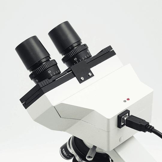 Microscopio Binocular con cámara HD Modelo A31.1006-B