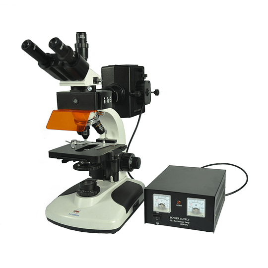 Microscopio Trinocular EPI Fluorescencia Modelo YJ-2002H 40-1000X