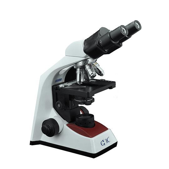 Microscopio Binocular Educacional, Modelo BS203, 40x-1000x, LED