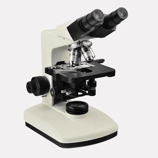 Microscopio Biologico Binocular 40x-2500x incluye Cámara 5MP, Modelo BK1201, Led