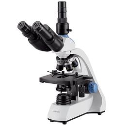 Microscopio Trinocular Amscope LED 40X-1000X con Platina Mecánica, T250C