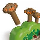 Pista aparece el mono