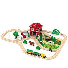Pista de granja - Acooltoy - Juguetes de Madera