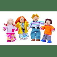 Set de muñecos - familia moderna